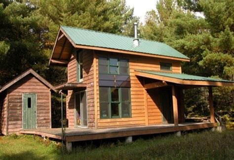 Diy Cabin by Diy Built Grid Tiny Cabin