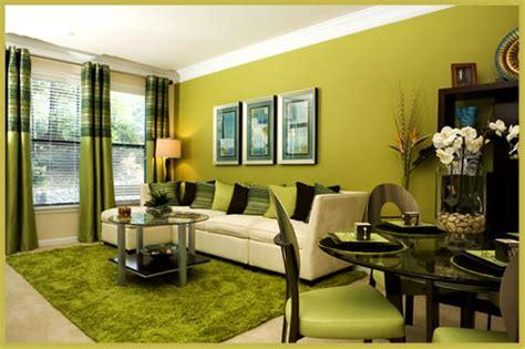 Go Green Interior Design by Color Verde En Las Salas