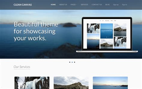 wrapbootstrap free themes clean canvas business theme business corporate
