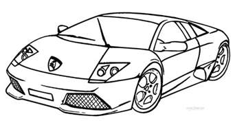 Lamborghini Coloring Sheet Printable Lamborghini Coloring Pages For Cool2bkids