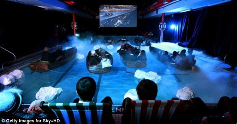 titanic film hot shot that sinking feeling audience are treated to titanic