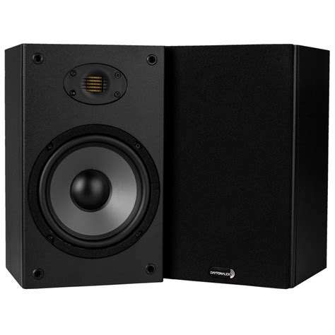 b652 air 6 1 2 quot 2 way bookshelf speaker with amt tweeter