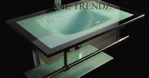 Bathroom X Bathroom Vanity Furniture Aqua Green Tempered Glass Bowl