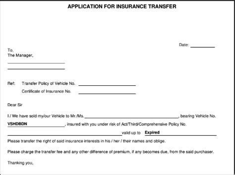 Bike Insurance Transfer Letter Format What Are The Documents Required To Sell A Car Cars24