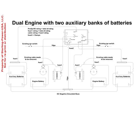 boat dual battery isolator wiring diagram boat wirning