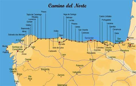camino de santiago length camino nord camino de santiago hiking ideas