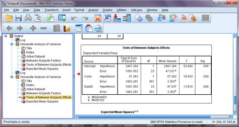 design effect in spss using mixed effects models for confirmatory hypothesis