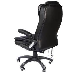 executive ergonomic heated vibrating computer desk office