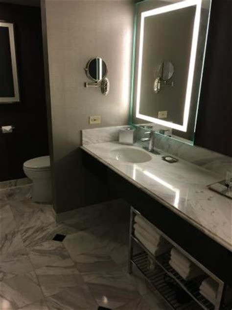mgm grand bathroom bathroom in executive queen suite double vanity tub