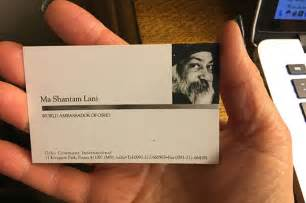 business card banner osho s world ambassador ma shantam osho news