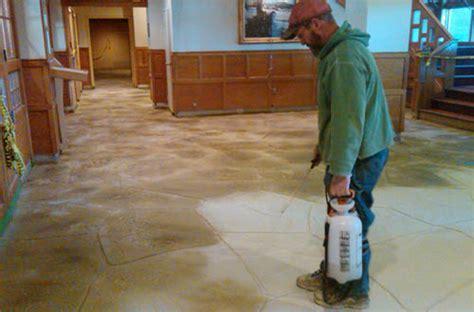 Acid Wash Concrete   Happy Guy Concrete