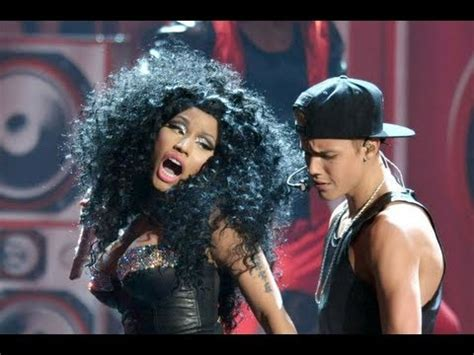 de justin bieber y nicki minaj justin bieber ama 2012 performance ft nicki minaj youtube