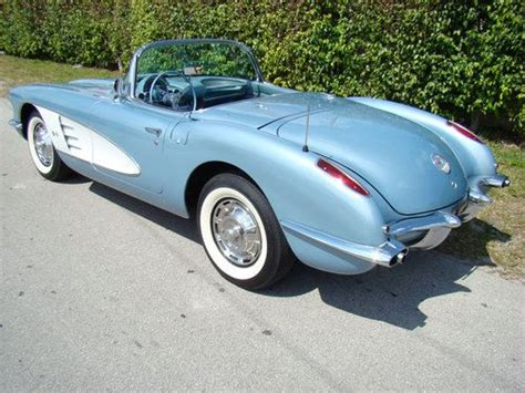 car owners manuals free downloads 1959 chevrolet corvette electronic toll collection buy used 1959 chevrolet corvette in cedar rapids iowa united states