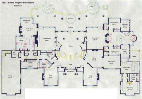 pensmore mansion floor plan floorplans homes of the rich