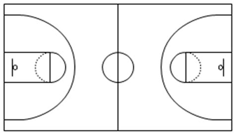 basketball court design template simple basketball court template