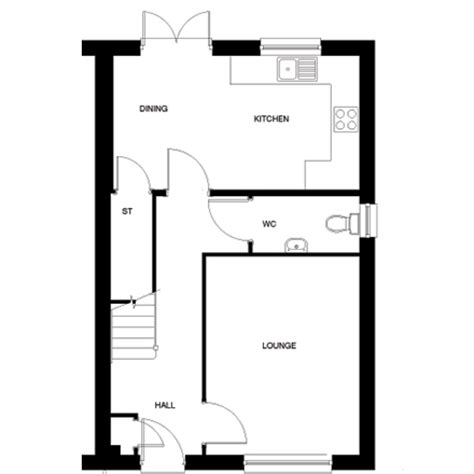 taylor wimpey floor plans the blair plot 55 taylor wimpey