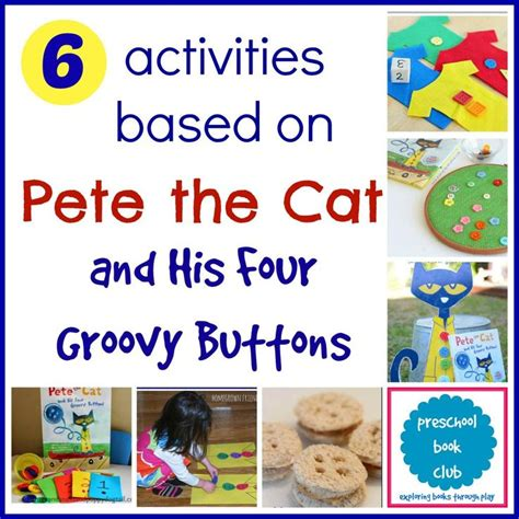 picture book activities 17 best images about pre k pete the cat on