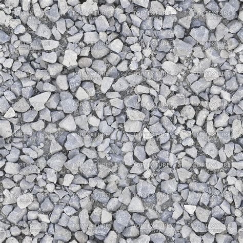 Rock And Gravel Sharp Gravel Rocks Top Texture