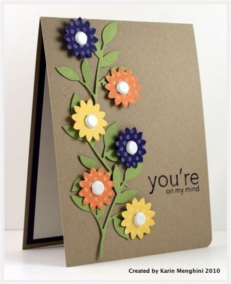 Simple Handmade Birthday Cards For Friends - how to make handmade greeting cards for friends