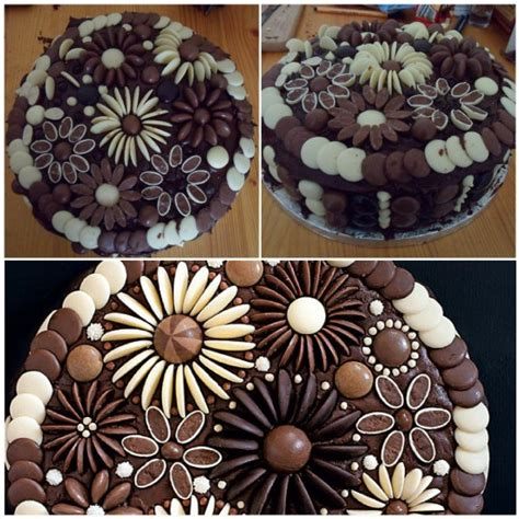 diy chocolate cake diy chocolate flower cake diy craft projects