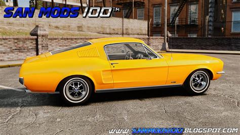 Gamis Auter gta iv ford mustang classic 1967