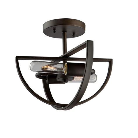 bronze semi flush mount light livex lighting meridian 3 light bronze semi
