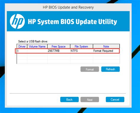 bios reset tool hp after restoring bios from usb still hp bios utility starts