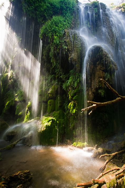 gorman falls landscape photography