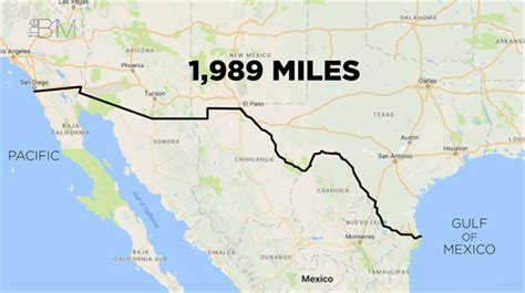 us mexico border wall map building s wall