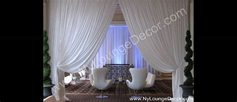 wall drapings ny lounge decor wall draping