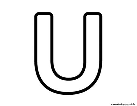 coloring pages of letter u free printable letter u coloring pages