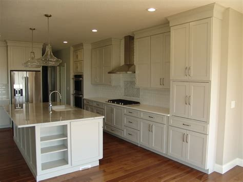 Dunmore Kitchen by New Construction Geneseo Il Cambria White Cliff Dunmore