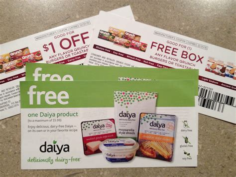 Coupon Giveaway - giveaway free food coupons for qrunch foods daiya cheese orthodox and vegan