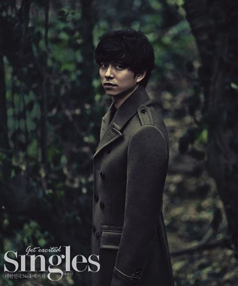 gong yoo film list gong yoo s confession with his new illusory pictorial in