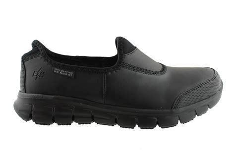 skechers womens sure track slip resistant work shoes