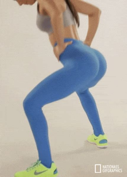 5 gifs of jen selter in blue yoga pants yoga pants girls