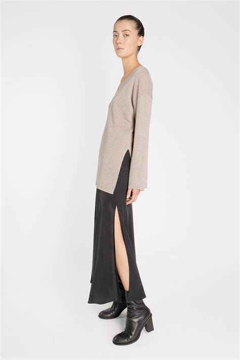 Bell Sleeve Wool Blend Knit Top shop new arrivals at genuine