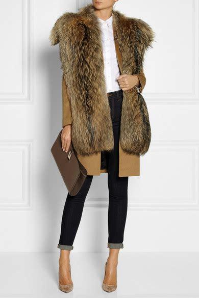 jil sander asiatic raccoon scarf net  portercom