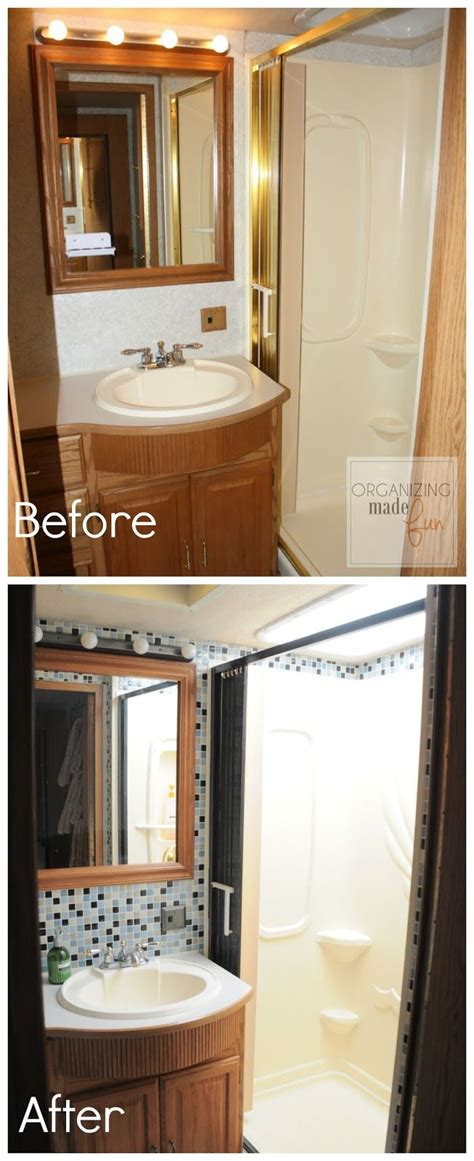 rv bathroom remodeling ideas 25 best ideas about rv remodeling on trailer