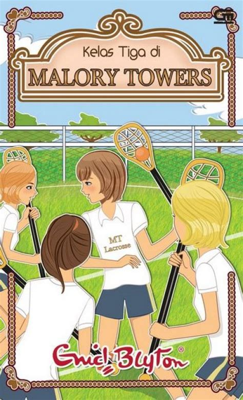 Buku Novel Anak Terlaris Karya Enid Blyton Kelas Tiga Di Malory Towe bukukita kelas tiga di malory towers cover baru