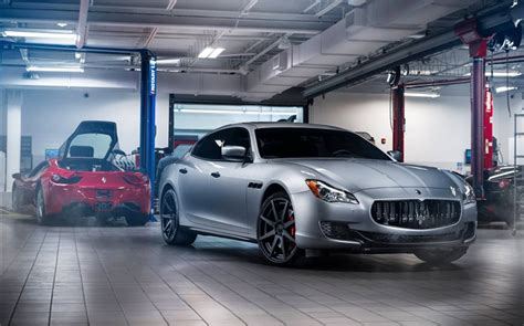 maserati garage maserati granturismo silver car garage hd wallpapers