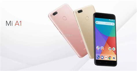 Xiaomi Mi A1 Ram 4gb 64gb Black Garansi Resmi xiaomi mi a1 64gb rom 4gb ram 4g lte original imported set unsealed appasia e marketplace