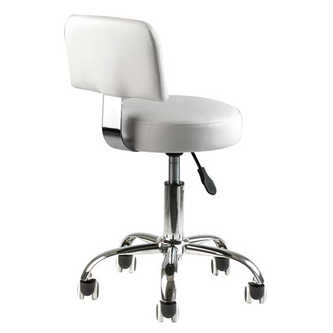 Pedi Stool With Footrest by 2 White Pedicure Stool Adjustable Footrest Doctor