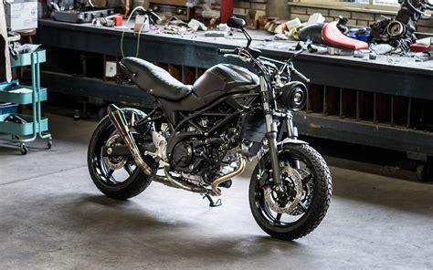 Suzuki Scrambler Motorcycle Suzuki Sv650 Scrambler By Moto Adonis Bikebound