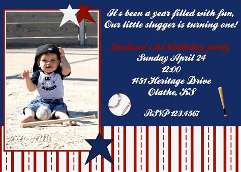 Free Printable Baseball Birthday Invitations Kids Baseball Birthday Invitations Invitations Baseball Card Invitation Templates