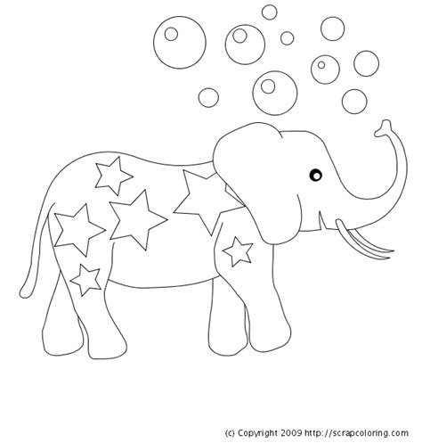 elmer elephant coloring pages