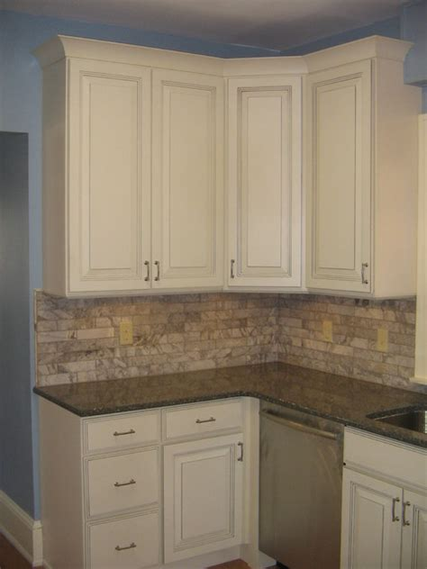 Linen Kitchen Cabinets Sky Blue Kitchen With Linen Cabinets Traditional Kitchen Minneapolis By Cliqstudios Cabinets