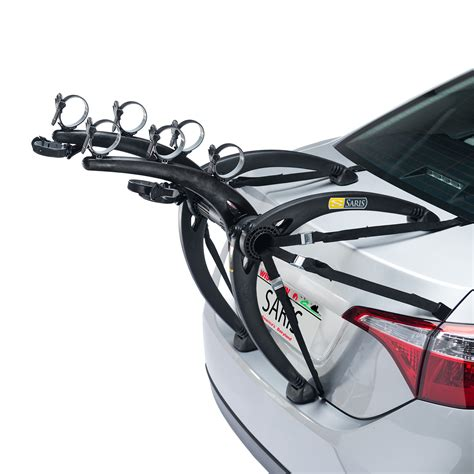 Saris Bike Rack Fit Guide by Bones 3 Bike Trunk Car Rack Saris