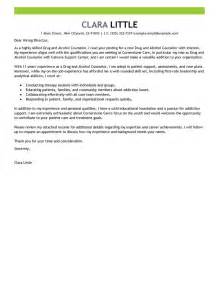best and counselor cover letter exles