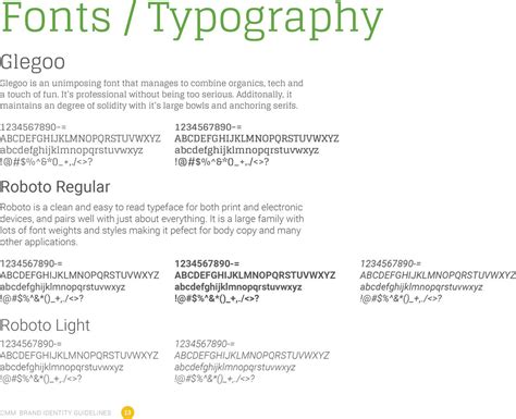 typography style guide branding drupalcon a stunning brand web style guide